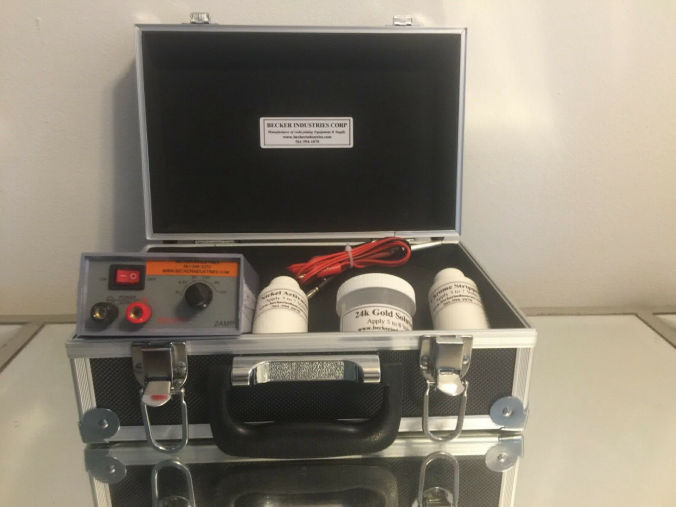 kit 18K Gold solution Mini Plater 18kt Gold Plating Machine